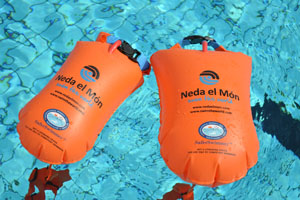 open water swimming buoy